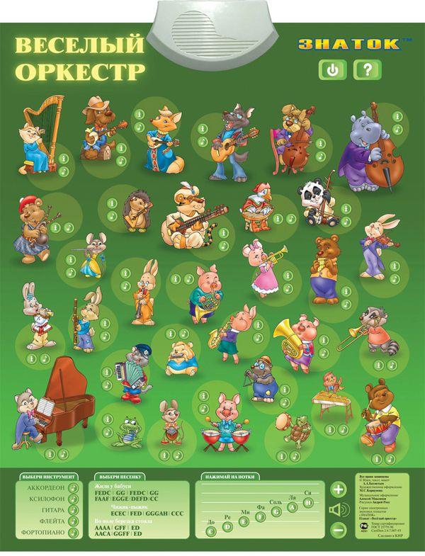 Картинка Электронный плакат Веселый оркестр