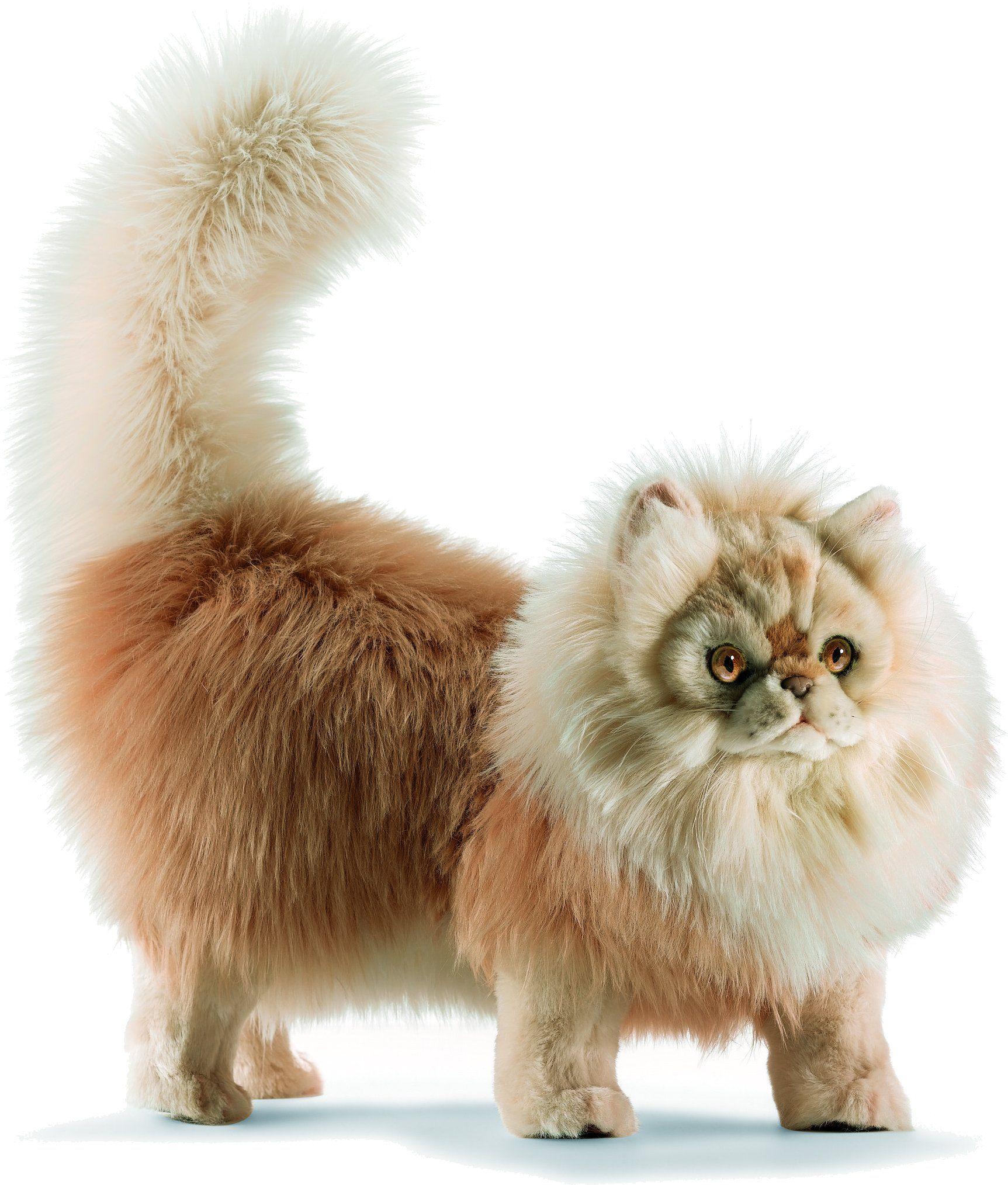 Игрушки мягкие кошки как живые