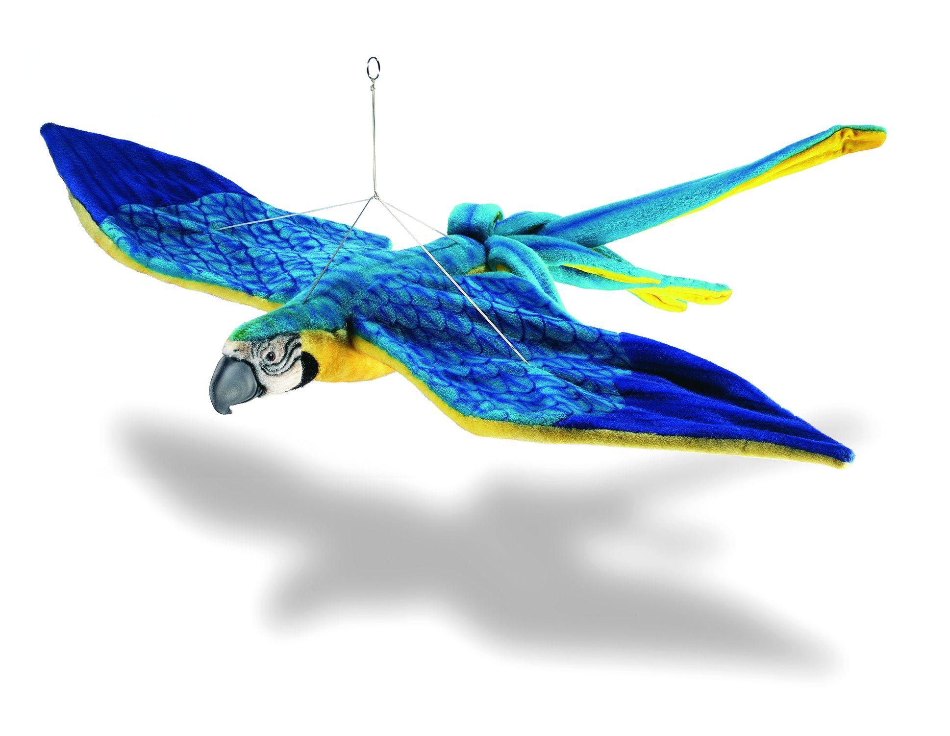 Как сделать попугая из бумаги который сам летает