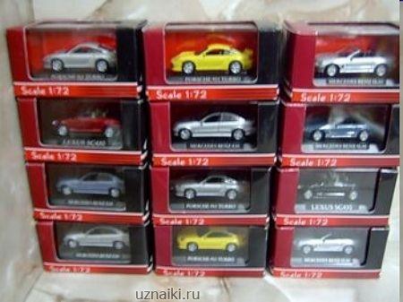 Купить модели автомобилей 1 72