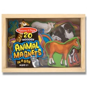 Картинка - Фигурки животных с магнитами Melissa and Doug 475