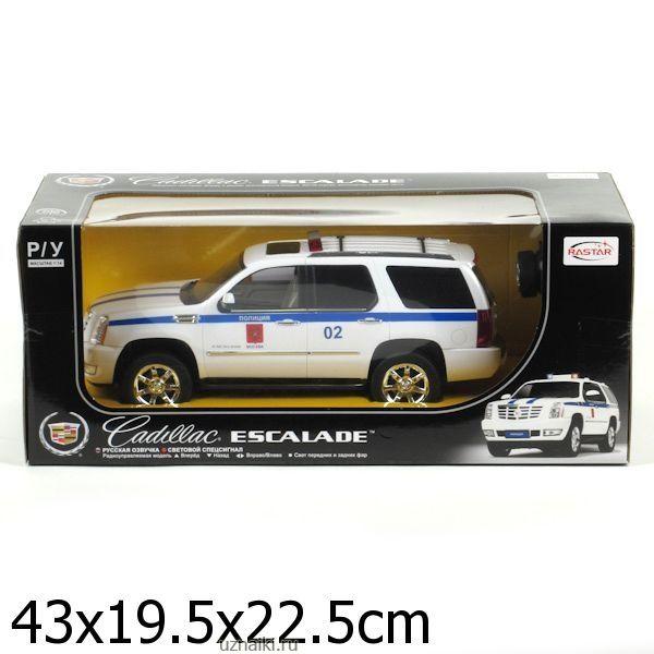 59a15c0d7518 Машина р-у rastar cadillac escalade полиция 1 14, свет+звук ...