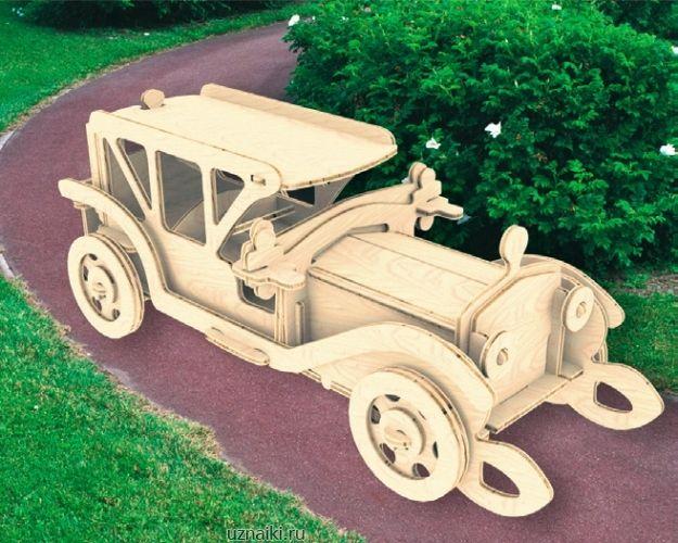 Модели деревянные машин