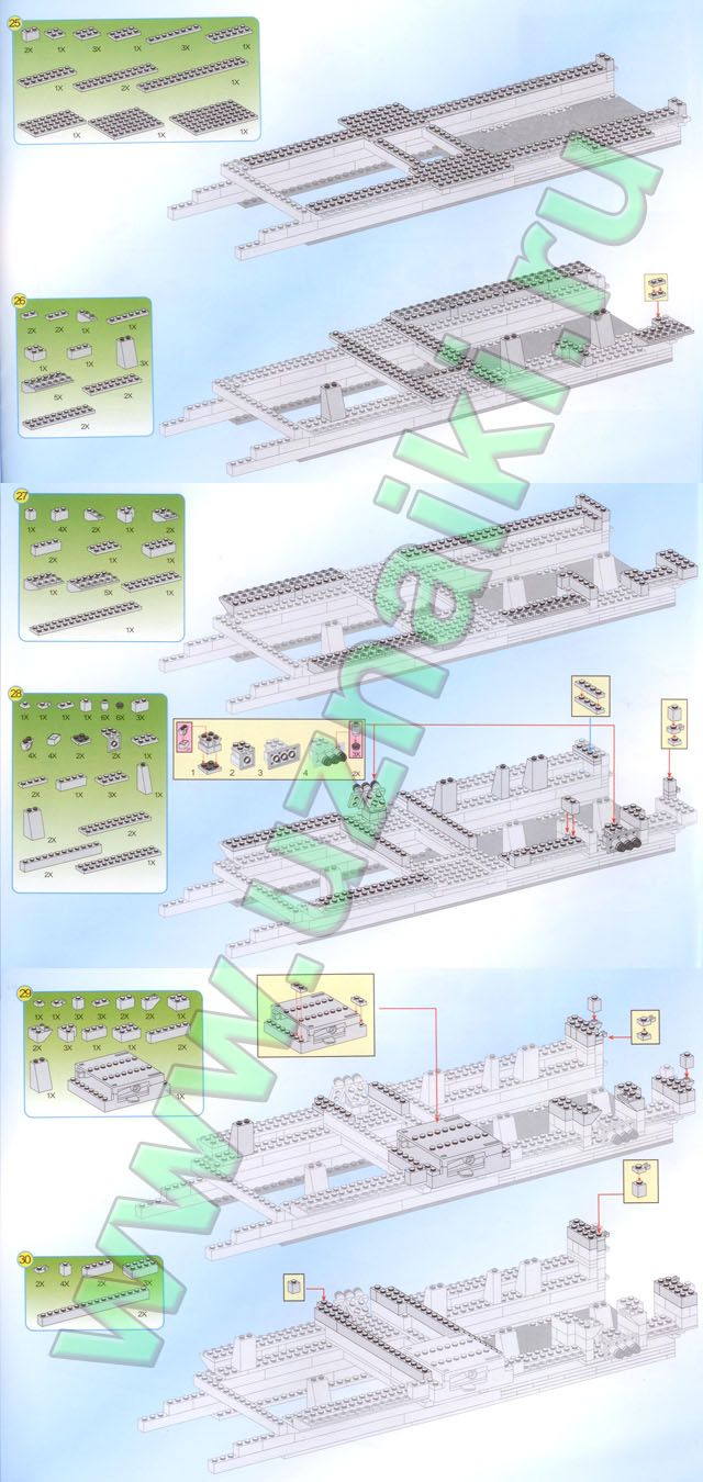 Инструкция по сборке конструктор Brick 112 Крейсер Warship часть 7, купить по лучшей цене Инструкция по сборке конструктор Brick