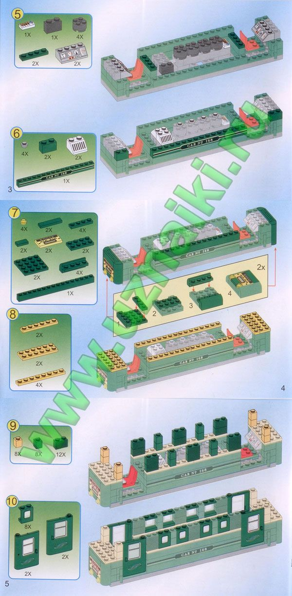 Инструкция к конструктору brick 117 катер стр 6