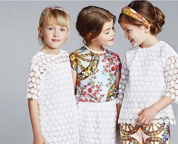 Модное лето 2014 для девочек