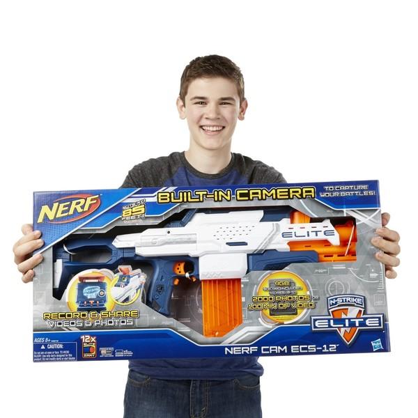 Nerf-бластеры — игровые наборы для современных мальчишек