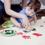 Учим малыша рисовать