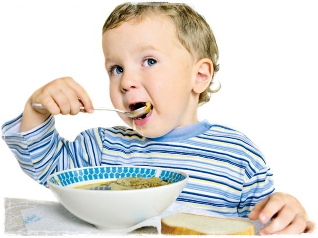 Питание двухлетнего крохи