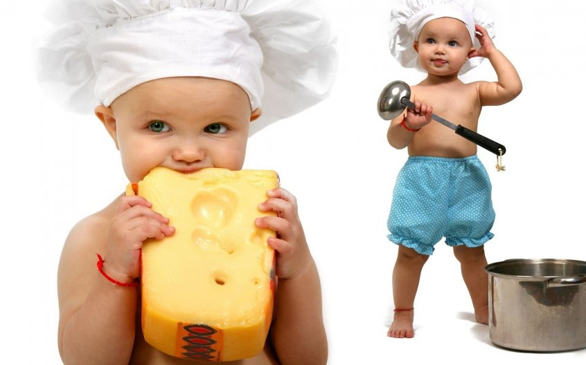 Сыр в меню малыша