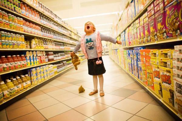Как избежать истерики ребенка в магазине