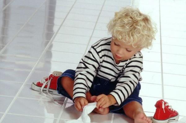 Первые шаги малыша к самостоятельности